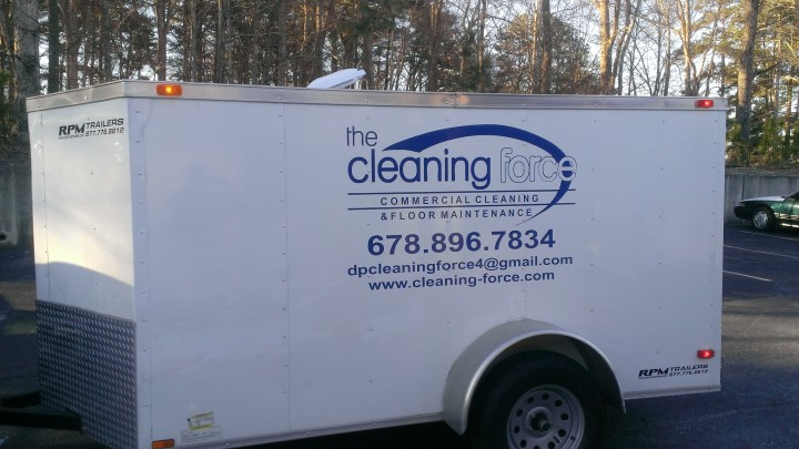 Cleaning Force Inc truck