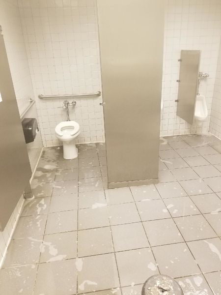 Rest Room Ceramic Floor Cleaning in Lawrenceville, GA (9)