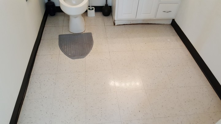 After Janitorial Service Floor Cleaning